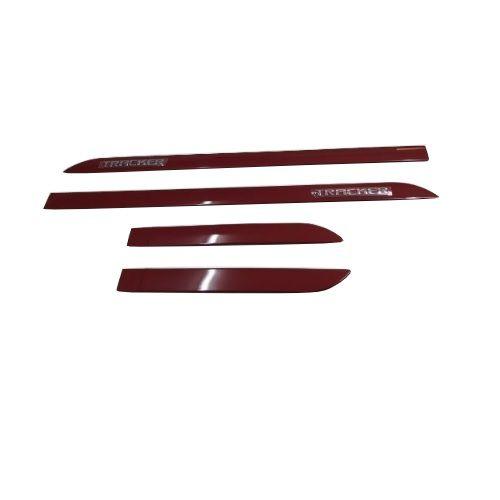 Kit Friso Lateral Sean Car Tracker 2020 Vermelho Chilli Alto Relevo