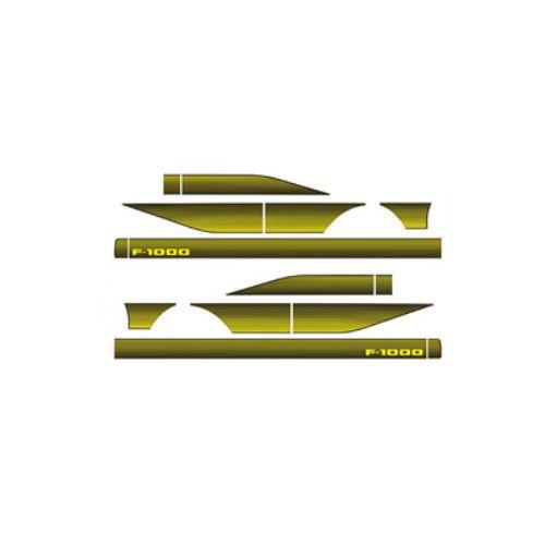 Faixa Decorativa F1000 Amarela Decal Line