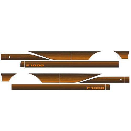 Faixa Decorativa F1000 Laranja Decal Line