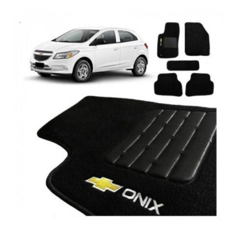Tapete em Carpete Flash Onix 2013 a 2019 Preto