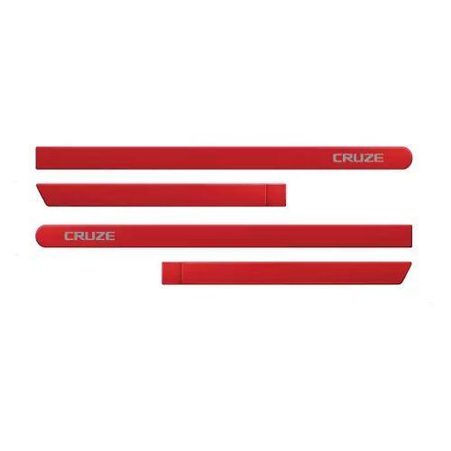 Kit Friso Lateral Cruze 2012 a 2018 Vermelho Pepper