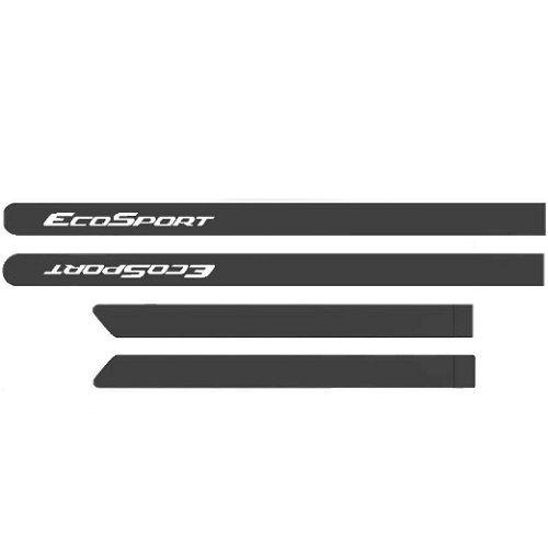 Kit Friso Lateral Ecosport 2013 a 2020 Cinza Camburi