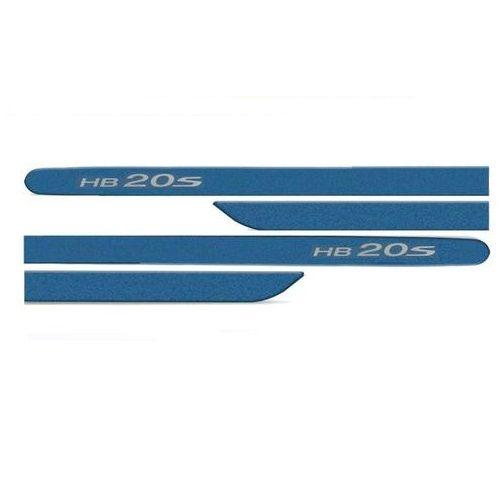 Kit Friso Lateral Hb20s Sedan 2012 a 2019 Azul Ocean