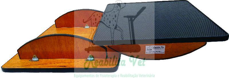 Prancha de Equilíbrio Retangular 60x50x13 Borracha