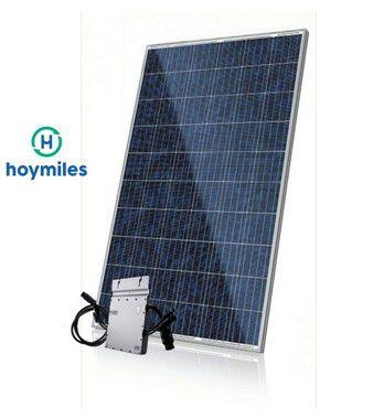 GERADOR DE ENERGIA SOLAR FOTOVOLTAICA HOYMILES - 5,04 kWp  - MICRO INVERSOR