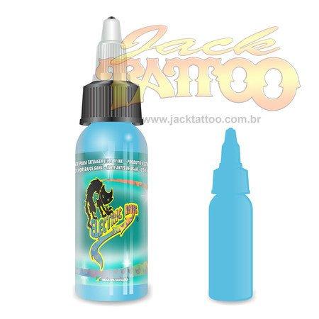 Tinta para Tatuagem - Ref 47 - Electric Ink 30ml - Azul Bebe
