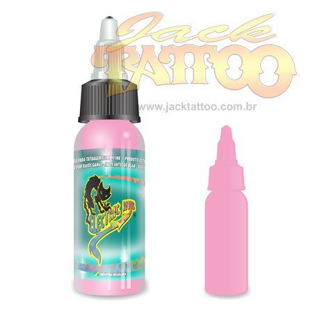 Tinta para Tatuagem - Ref 60 - Electric Ink 30ml - Rosa