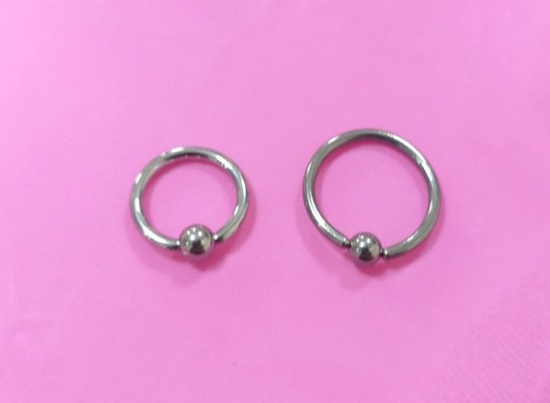 Piercing - Captive 1.2mm - Titânio