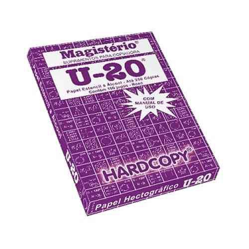 Papel Hectográfico Magistério U-20 - 100 folhas
