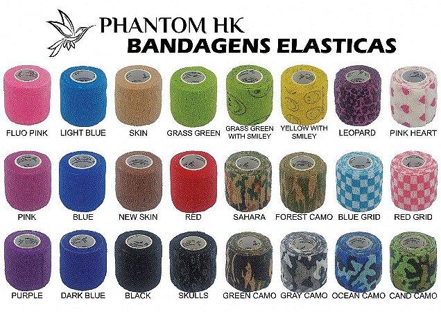 Bandagem/Atadura Elástica e Coadesiva Phantom HK