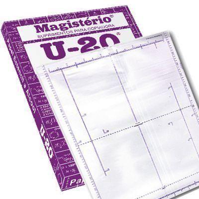 Papel Hectográfico Magistério U-20 - 4 folhas