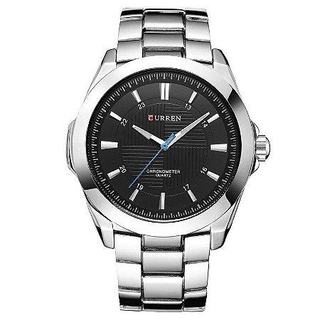 Relógio Clássico Prata