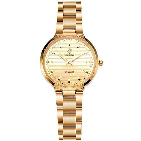 Relógio Gold Fashion