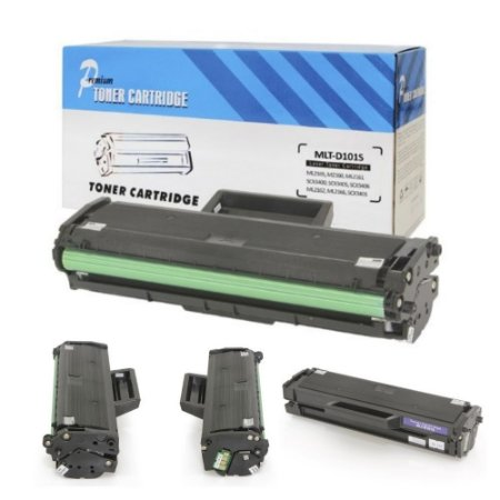 kit 3 Toner Mlt-D101s Para Ml2165 Ml2165w Scx3405 Scx3405fw Scx3400 Ml2160 Preto 1.5K