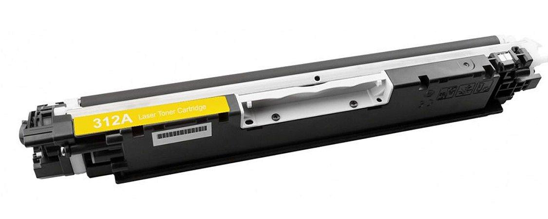 TONER COMPATÍVEL HP CP1025 | CP1025NW | CE312A/352 - Yellow