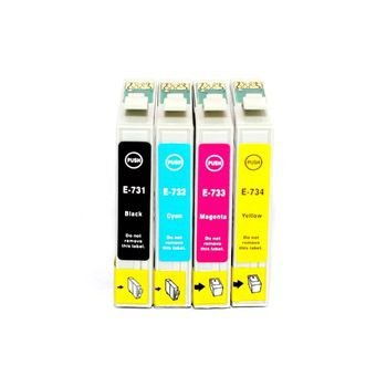 KIT CARTUCHO EPSON TO731-732-733-734
