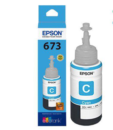 REFIL P ECOTANK L800 CIANO T673220AL EPSONCX 1 UN