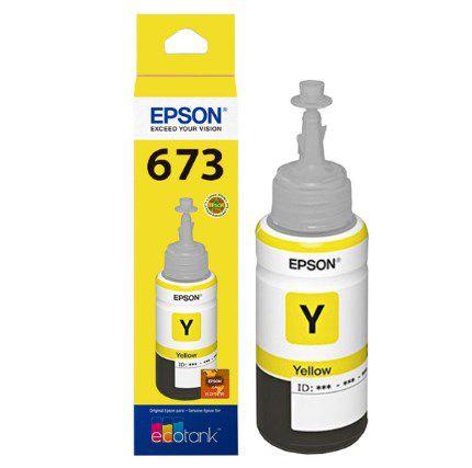 REFIL TINTA P/ECOTANK L800 AMARELO T673420AL EPSON CX 1 UN