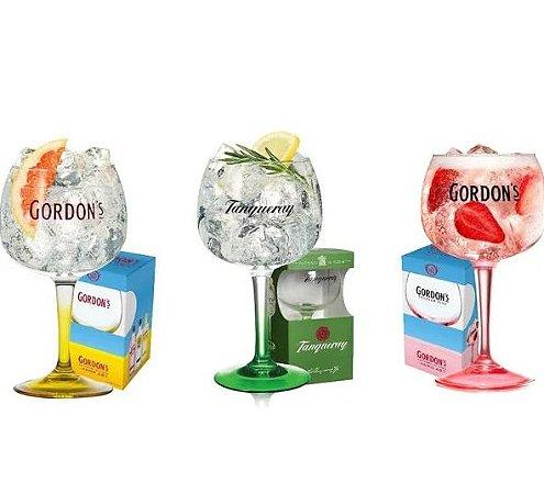 3 Taças gin coloridas - 600 ml