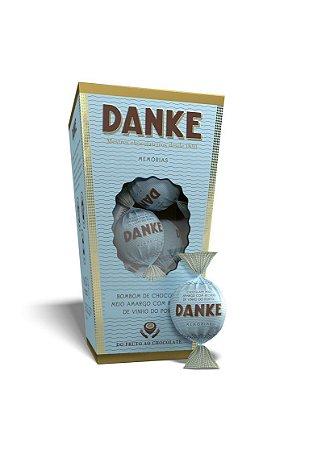 Chocolate Danke- Bombom Amargo C/ Vinho Do Porto Cx 162g