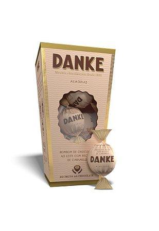 Chocolate Danke- Bombom Ao Leite C/ Caramelo Cx 162g