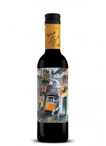 Vinho Tinto Português Porta 6 - 375ml (meia garrafa)