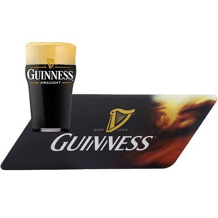Combo Guinness - Bar Runner + Copo Guinness Pint  -580 ml  Questão de Gosto