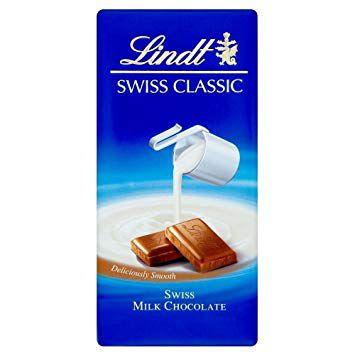 Chocolate Lindt Milk Classics - 100g Questão de Gosto