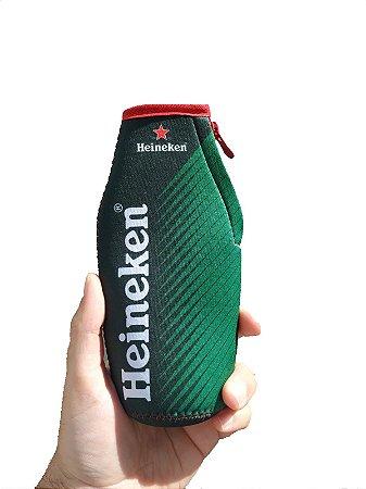 Porta long neck neoprene - Heineken