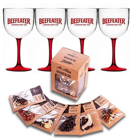 Conjunto Beefeater + especiarias