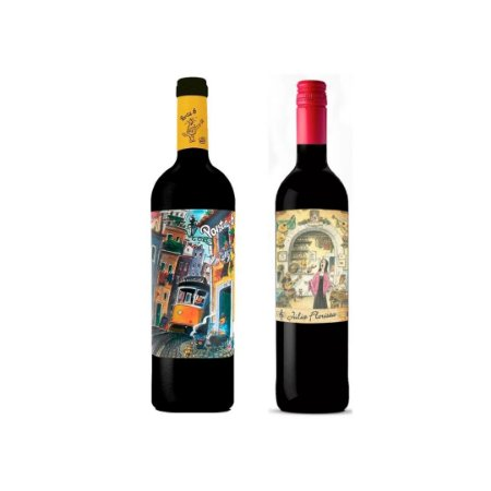 Kit Vinhos Tto Porta 6 + Julia Florista 750 ml