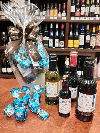 Kit seleção de vinhos