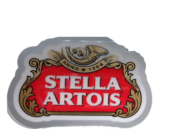 Luminoso imp. Stella Artois acrílico- led
