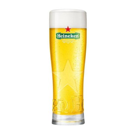 Copo Heineken Star com relevo - 250 ml