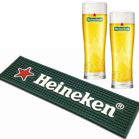 Kit Barmat Heineken + 2 Copos Heineken 250 ml