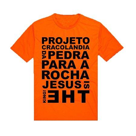 Camiseta Laranja Missão Cracolandia