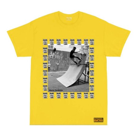 Camiseta Amarela Tarobinha Sk8 Por Amor o Preço é Outro