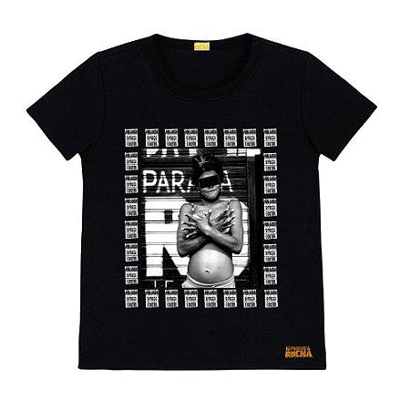 Camiseta Preta Foto Mulher Cracolandia Por Amor o Preço é Outro