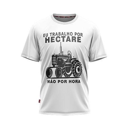 Camiseta Estilo Country Trabalho Por Hectare