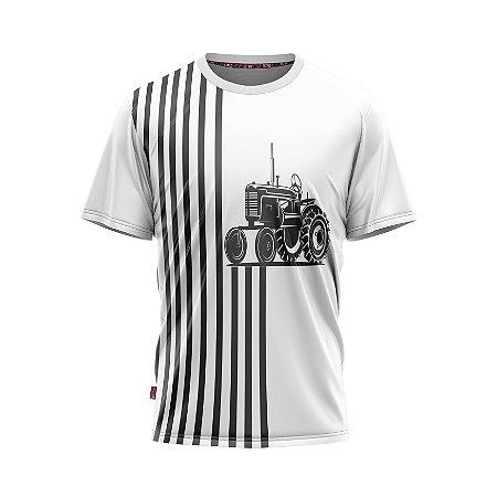 Camiseta Estilo Country Trator