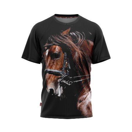 Camiseta Estilo Country West Horse