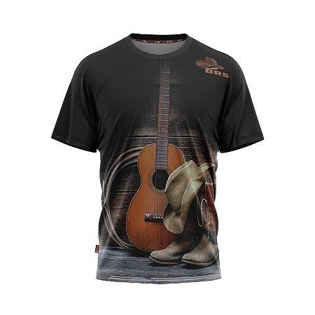 Camiseta Estilo Country Kit Cowboy