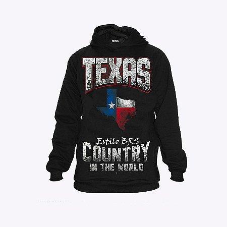 Moletom Country Cowboy Texas Estilo BRS