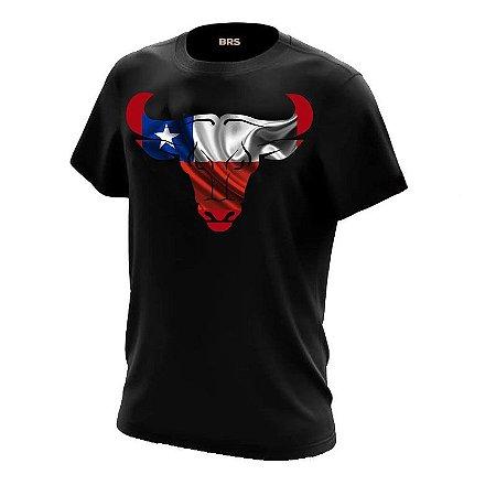 Camiseta Country Cowgirl Cowboy Boi Chileno