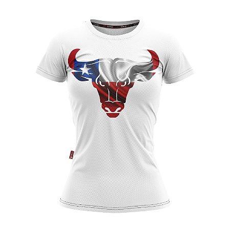 Camiseta Baby Look Cowgirl Boi Chileno