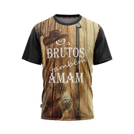 Camiseta Estilo Country Brutos Também Amam