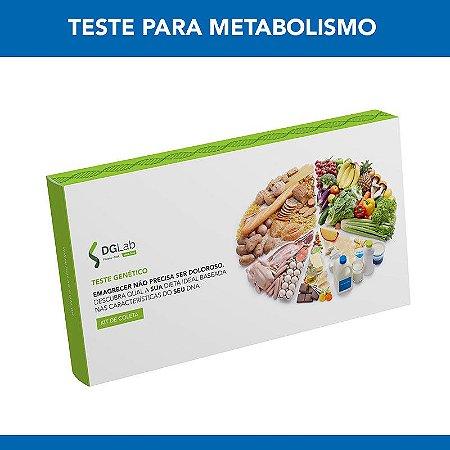 Ativação do Teste de Metabolismo DGLab