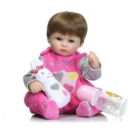 Mia Baby Nurse - Boneca Bebê Reborn Menina