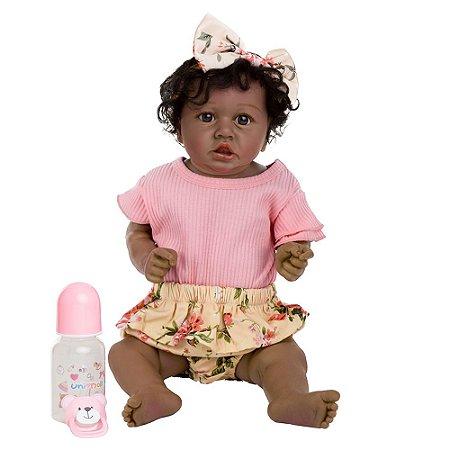 Carol - Bebê Reborn Negra Realista
