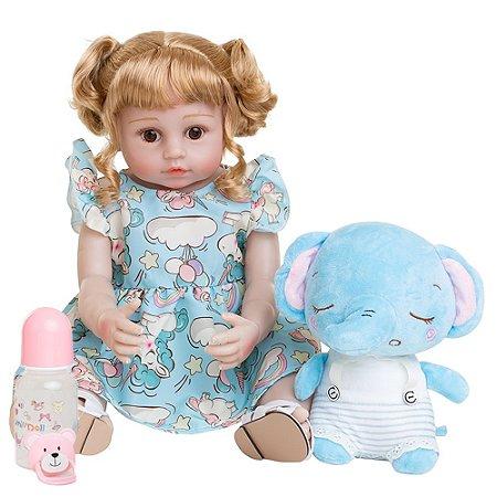 Alice Elefantinho - Bebê Reborn